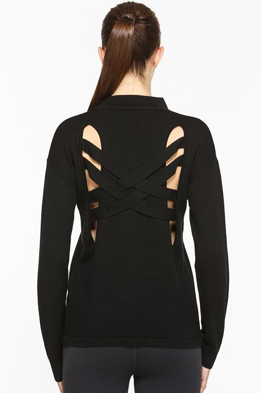 Strapped Wool Sweater - Titika Active Couture™ (Hong Kong)