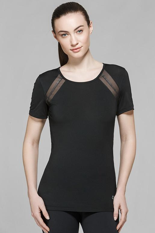 Alyssa Short Sleeve Top - Titika Active Couture™ (Hong Kong)