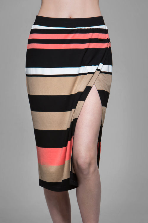 Maddox Striped Skirt