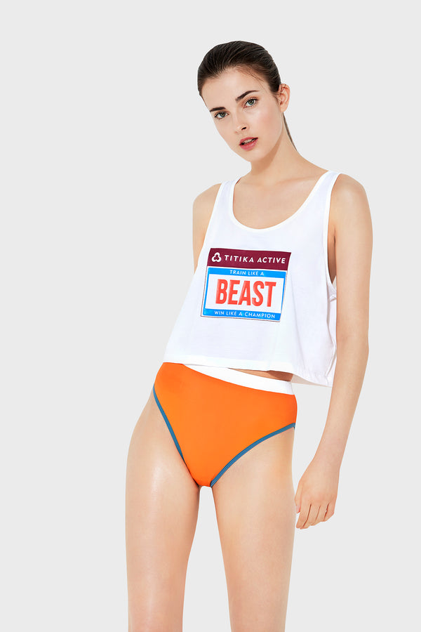 Beast Mode Cropped Tank