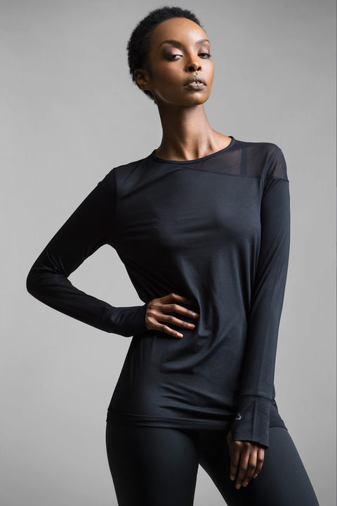 Alma Quickwick Long Sleeve Top - Titika Active Couture™ (Hong Kong)