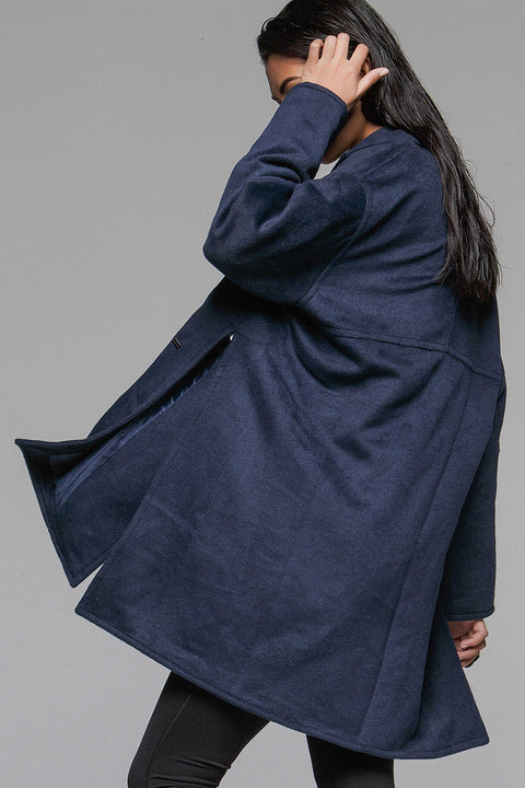 Avis Oversized Pea Coat - Titika Active Couture™ (Hong Kong)