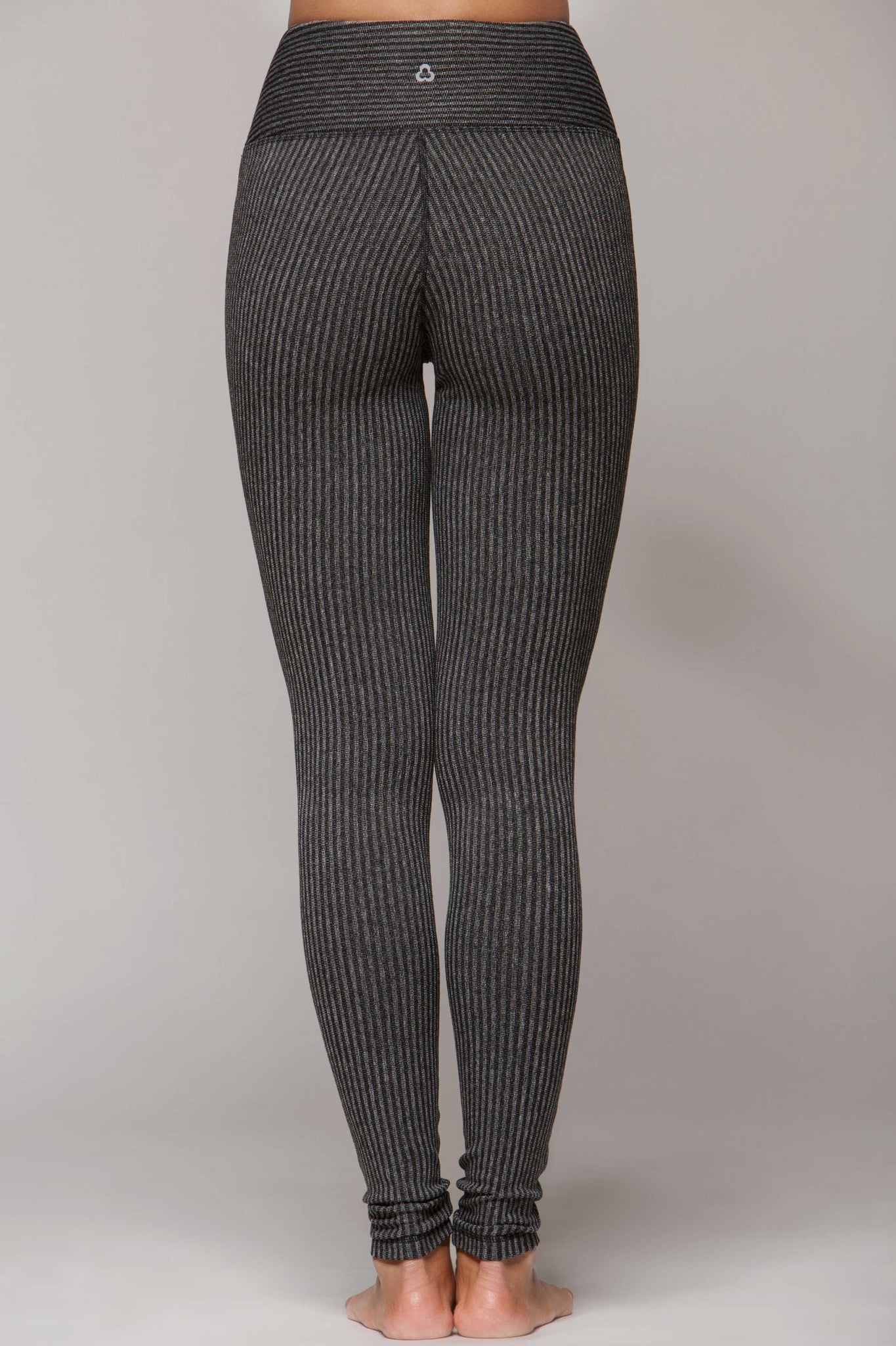Lucky Legging Heathered - Black Grey
