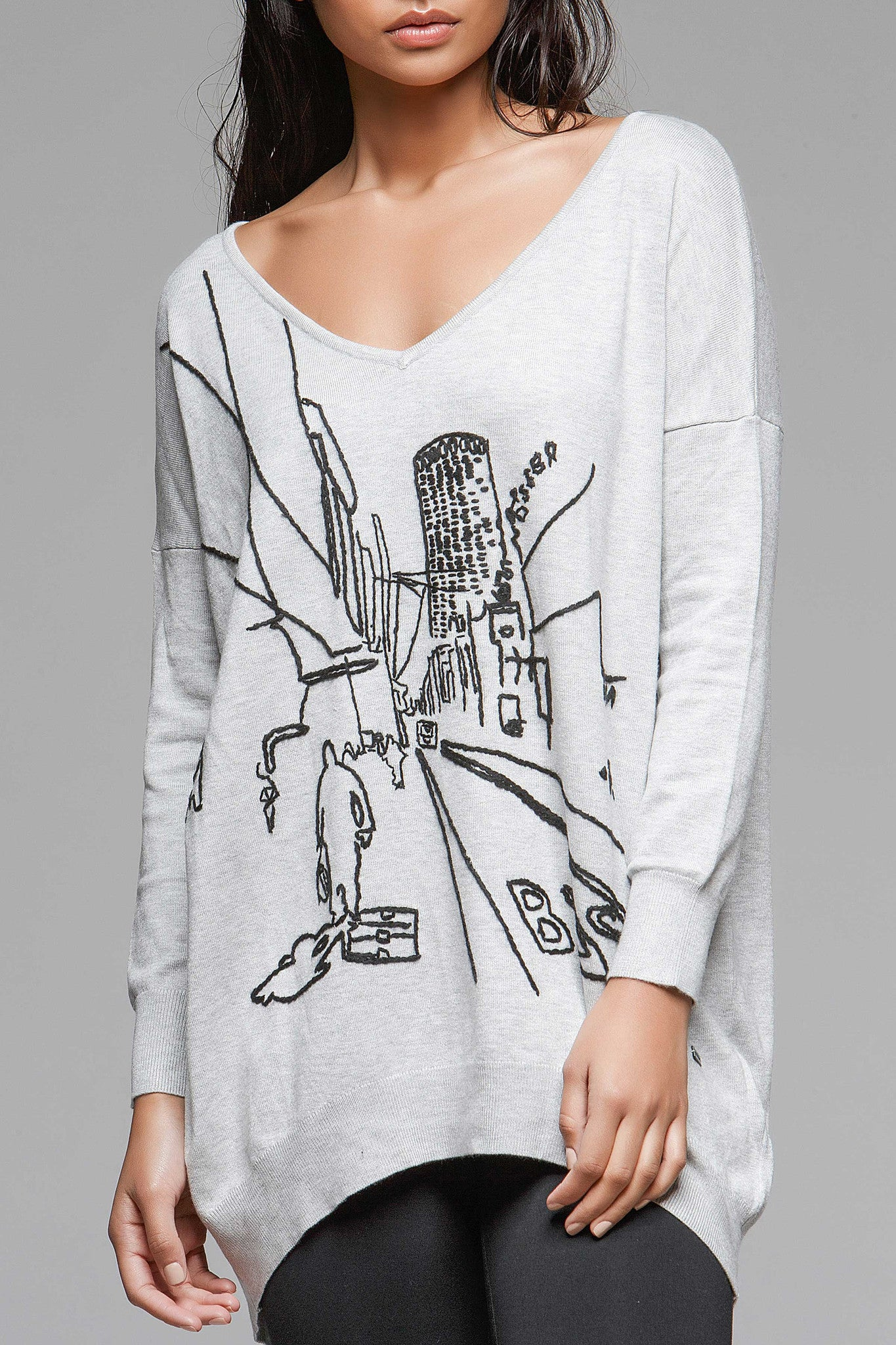 Game On II Graphic Sweater