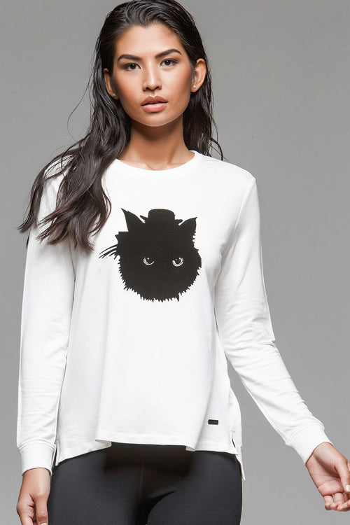 Kitty Graphic Long Sleeve