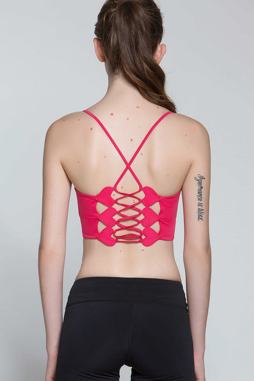 Lacey II Heart Light Impact Bra