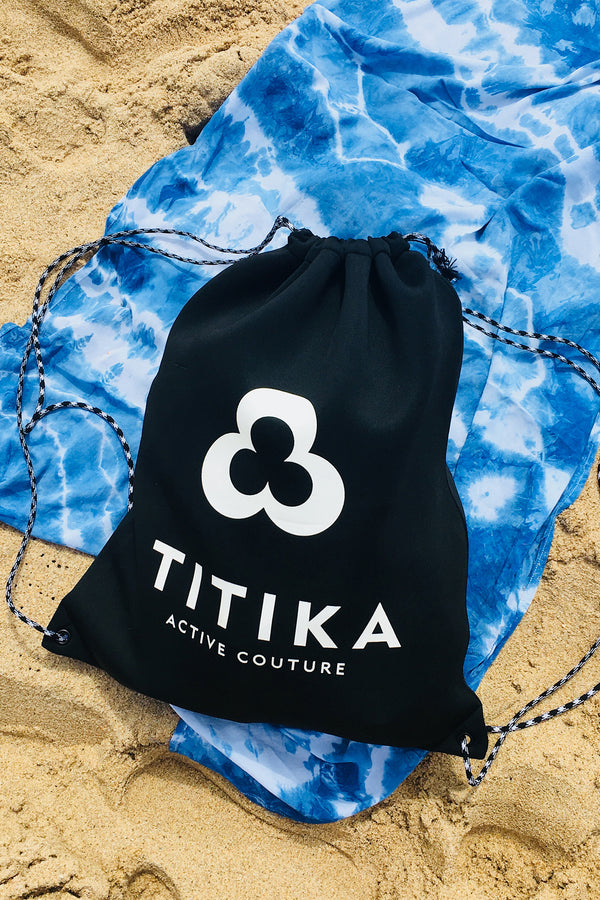 TITIKA LOGO DRAWSTRING GYM BAG