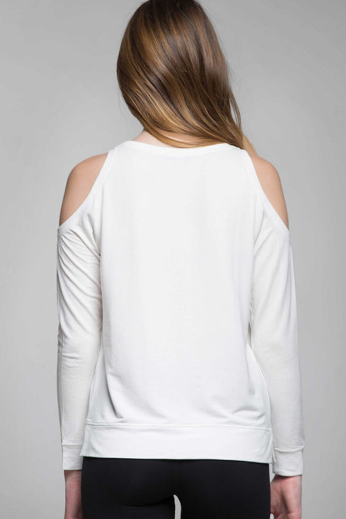 Marsha Cut-Out Modal Sweater