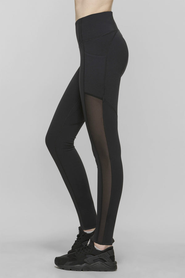 Compress Mesh Leggings Regular 27.5""