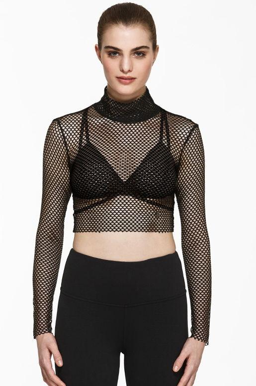 Brianne Mesh Crop - Titika Active Couture™ (Hong Kong)