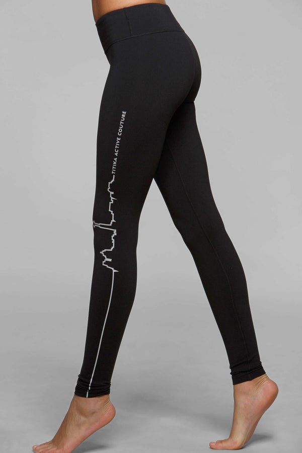 Straight Outta Toronto Reflective Legging - Titika Active Couture™ (Hong Kong)