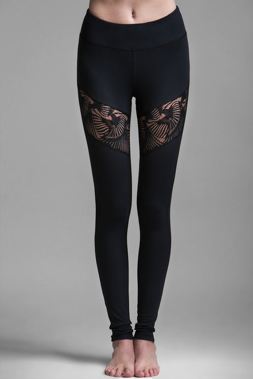 Thorn II Lace Cut-Out Legging
