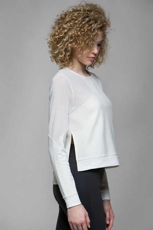 Wallis Mesh Cut-Out Top