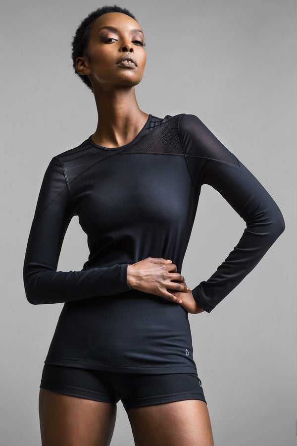 Zim Long Sleeve Top - Titika Active Couture™ (Hong Kong)