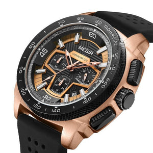 Business Watch For Men - MEGIR ™ Military Men's Quartz Wrist Watch