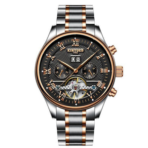 Business Watch For Men - The Mechanic Skeleton™ Men Waterproof Wristwatch