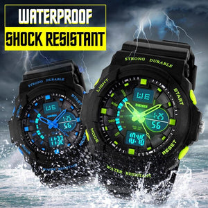 Children's Sportswatch - The Glowing Firm™ Multi-functional Waterproof  Watches For Kids