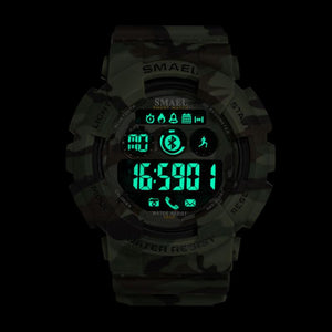 Digital Watch - The Robust™ Bluetooth Military LED Sports Watch For Men