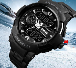 Digital Watch - The Sturdy Chrono™ Back Light Digital LED Waterproof Watch For Men