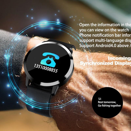Digital Watch - The Uni Tech™ Unisex Intelligent Waterproof Smartwatch For Android & IOS