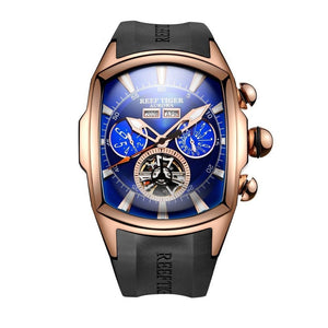 Dual Display Watch - The Luminous™ Analog Tourbillon Men's Watch