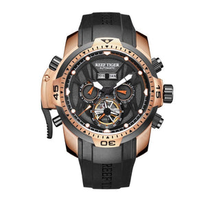 Dual Display Watch - The Mechanic™ Men's Waterproof Wrist Watch