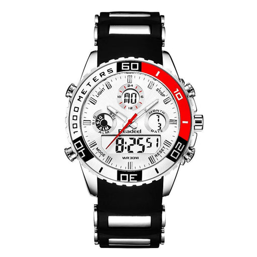 Dual Display Watch - The Readeel™ Luxury LED Digital Military Sports Watches For Men
