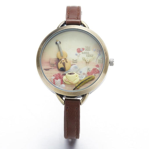Fashion & Casual - The Musician™  Women Quartz Wristwatch