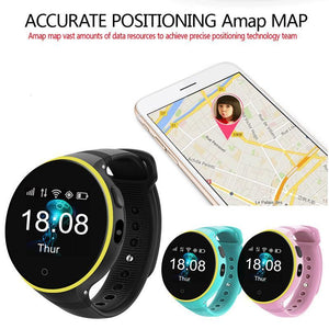 GPS Tracker - The Lustrous™ GPS Children's Smartwatch With Intelligence Games