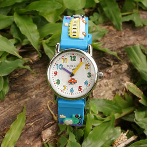 Kid's Fashion Watch - The Cartoons Kid™ 3D Cartoon Cars Wristwatches For Children