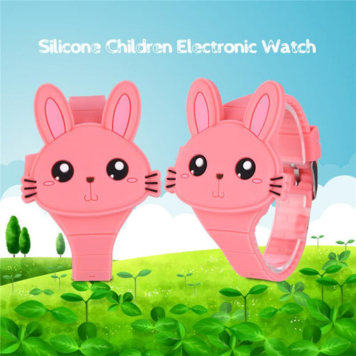 Kid's Fashion Watch - The Kittens™ 2 PCS 3D Cartoon Digital Sports Watch For Kids