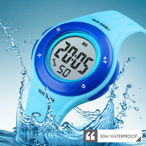 Kid's Fashion Watch - The Mushy™ Children's Electronic Digital Silicone Watch