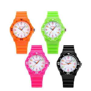 Kid's Fashion Watch - The Plain Colored™ Fashion & Casual Children's Waterproof Watches