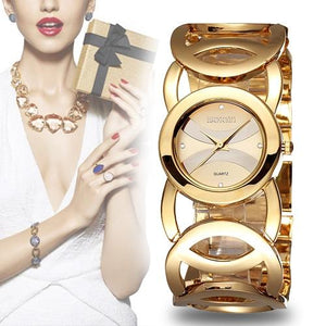 Luxury Watches For Women - The Luxury Crystal™  Waterproof Wristwatch