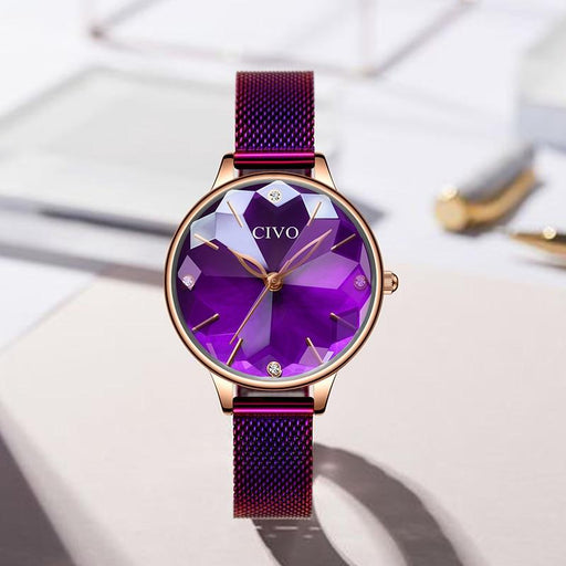 Luxury Watches For Women - The Purple™ Casual Waterproof Fashion Watch For Women