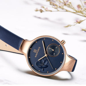 Luxury Watches For Women - The Simple Floral™ Minimalist Fashion Watch For Women