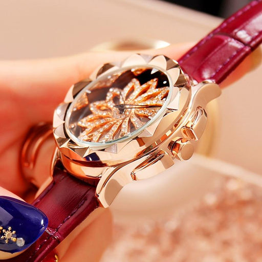 Luxury Watches For Women - The Turning™ Luxury Leather Women's Watches