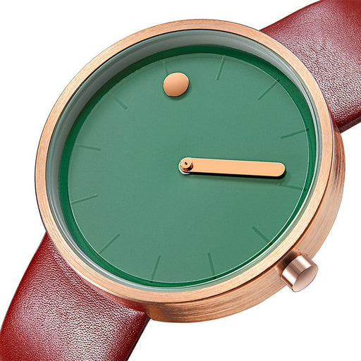 Simple Watches - The Dotted Plains™ Luxury Designer Leather Watch For Women