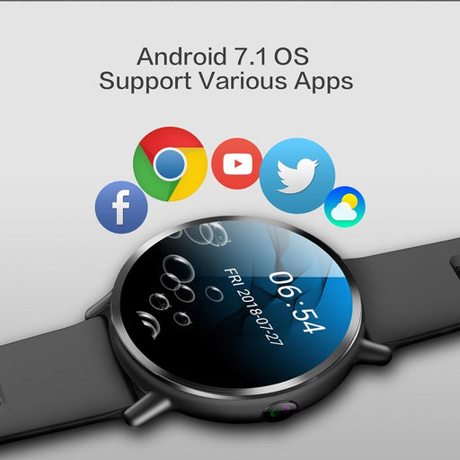 Smartwatch For Men - The Nifty™ 4G Wifi GPS Unisex Smartwatch With Camera