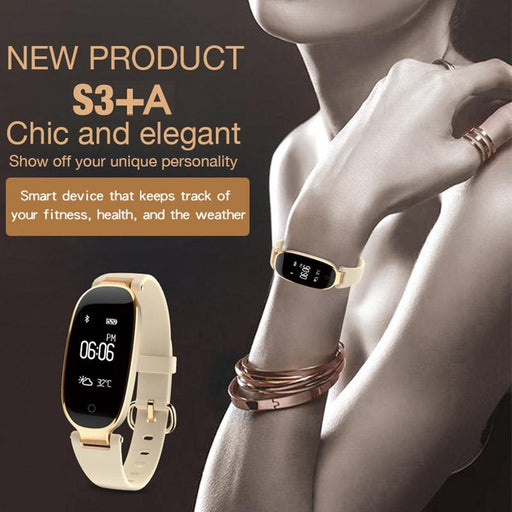 Smartwatch For Women - The S3 Smartwatch™ Women's Smart Bracelet For Android & IOS