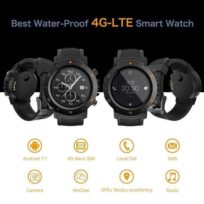 The Intelligent Lokmat™ Unisex Heart Rate & Pressure Monitor WIFI Smartwatch - The Intelligent Lokmat™ Unisex Heart Rate & Pressure Monitor WIFI Smartwatch