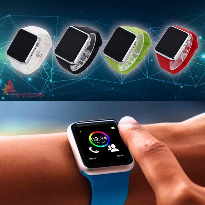 Watches - A1 WristWatch Bluetooth Smart Watch