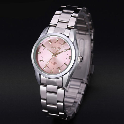 Watches - Classic Ladies Rhinestone Watch