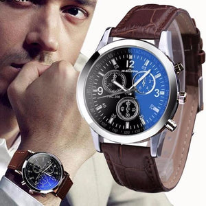Watches - Classic Roman Numeral Luxury Leather Watches