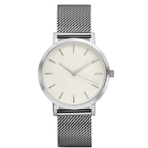 Watches - Fashion Crystal Stainless Steel Quartz Watch For Women