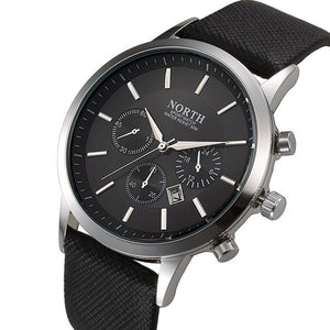 Watches - Luxury Design Leather Strap Watch