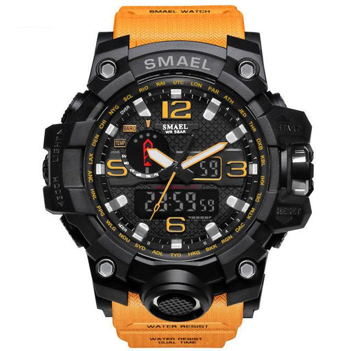 Watches - Military Wristwatch With Dual Time Display