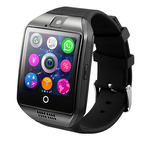 Watches - Q18 Smart Watch With Touch Screen & Camera Support
