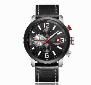 Watches - The Digital™ Leather Military Sports Watch