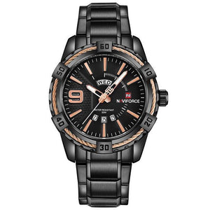 Watches - The Force 3™ Waterproof Quartz Stainless Steel Watch